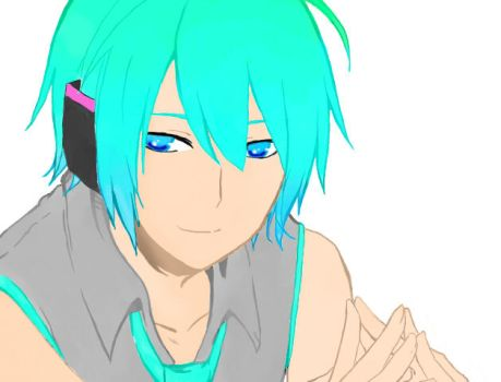 Mikuo!- Without the BG by crystalbloom247