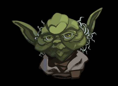 Yoda Portrait by WonderDookie