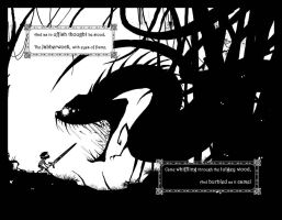 The Jabberwocky Page 8 Spread by EranFolio