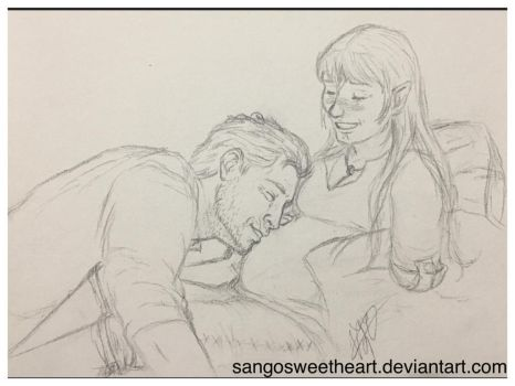 Cullen and Lani parents to be by Sangosweetheart