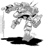 Battletech: Coyotl by Mecha-Zone