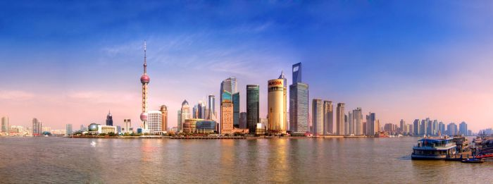 Pudong panorama by garki