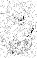 TFCC Magazine Issue 43 Cover inks by MarceloMatere