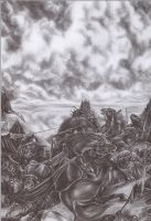 Warg War  By Sauronthegreateye-d37xq1o by sauronthegreateye