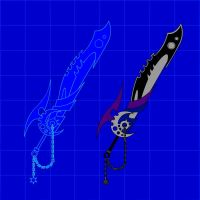 Moonshade sword blueprints by IronFist-Productions