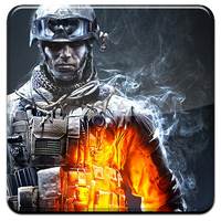 Battlefield 3 HQ DOCK ICON PNG by Djblackpearl