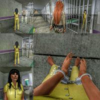 Euphoria's Prison Experience 6 by Barefoot-Inmate