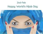 World's Hijab Day by Wirsha