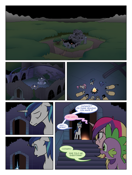 FiM TNtMD - Page 101: The Belly of The Beast by ArofaTamahn