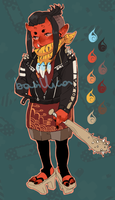ONI Adoptable [CLOSED] by Po-Lar