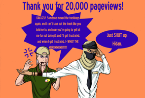 Thanks for 20K Pageviews by KelleyArline