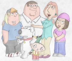 The family guy by Pabloelfish