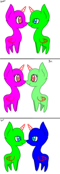 MLP Couple base by HelloThere9999