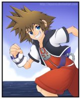 Seaside Race - Sora by Nyaasu