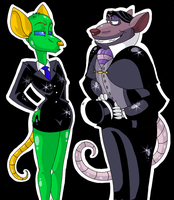 Favourite Rats by KaylaTheDragoness