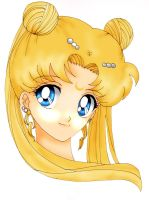 Sailor Moon princess Serenity by Feiuccia