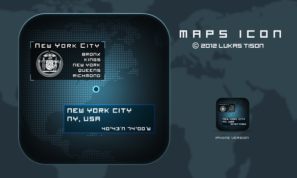 Maps icon by nepst3r