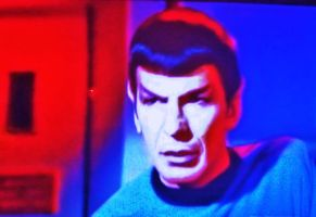 Psychedelic Sixties: Spock on Star Trek (4) by MystMoonstruck