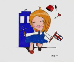 Alexa the Whovian by NatJack