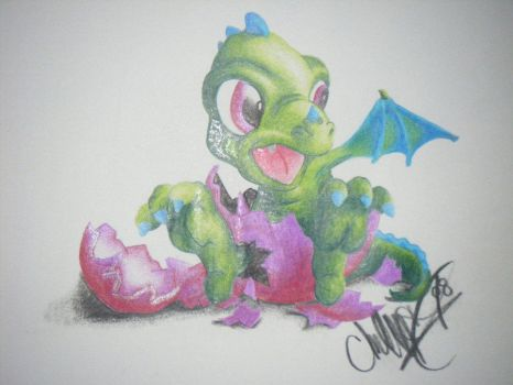 Baby Dragon by whitedove77