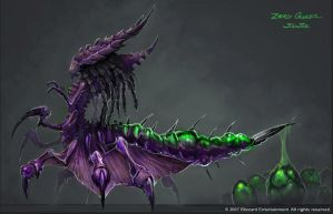 StarCraft - New Zerg Queen Concepts by SamwiseDidier