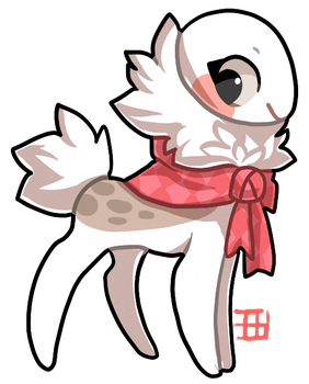 NPC Ribbon Pod house mascot -  Relicdeer by griffsnuff