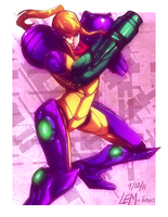 Samus by H1W0