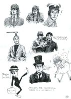 Monty Python by laurippo