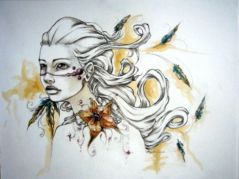 Dreams and Feathers by EmilieDionne