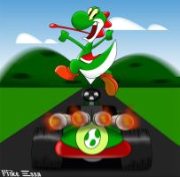 Yoshi Wins by MiketheMike
