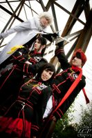D.Gray-Man: Exorcist Team by LiquidCocaine-Photos