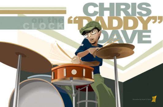 Chris 'Daddy' Dave by braeonArt