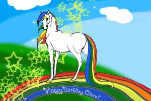 Starlite Birthday by chickymuyo