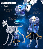 Undernight - Sans by LunaIsAnArtist