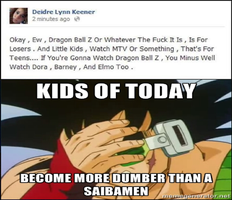 My Reaction to Idiots At Facebook or Twitter. by KeybladeMagicDan