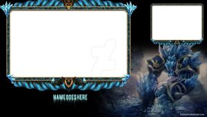 Glacial Malphite Twitch Overlay by Tramauhh