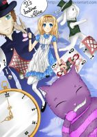 It's teatime Alice by Lorythme
