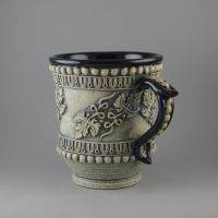 Grapeleaf Tea/Coffee Cup by TheTrespasser