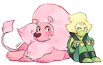 Peridot with Lion Haircut by suikuzu