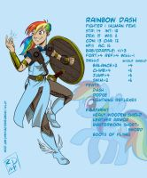 PnD: Rainbow Dash by RobD2003