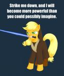 Applejack Appreciation Day 2014 - Jedi by Maran-Zelde