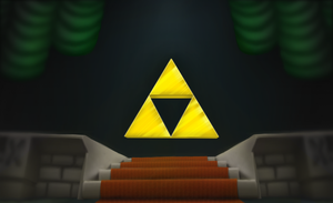 Chamber of the Triforce by corfidbizna