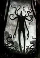 Slenderman by LeandroSanguineo