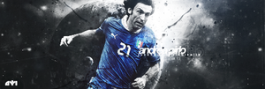 Andrea Pirlo ft. niku by LongerGFX