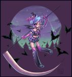 HalloweenBlackTenshi Colours by sissy20021