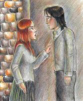 Snape and Lily by bachel60