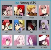 Summary Art 2012 by haruhishi