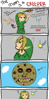 Legend of Zelda: Creeper Moon by Golden-Flute