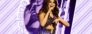 Selena Gomez Facebook Cover by ecrenuryas1