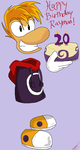 Happy 20th Birthday Rayman! by MammaCarnage